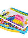 Kit Mozaic Jocuri Puzzle Jucării Educaționale Circular Ciupercă Plin de Culoare Crăciun Gril pe Kamado  Seturi mozaic Pentru copii Cadou