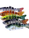 "5 st Jerkbaits Spigg Gädda g / Uns, 100mm mm / 7"" tum Sjöfiske Spinnfiske Jiggfiske Färskvatten Fiske Karpfiske Abborr-fiske Drag-fiske"