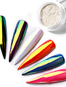 1pc / 1box Glitter Pailletter Negle kunst Manicure Pedicure Klassisk Daglig