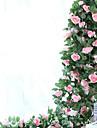 1 Gren Silke Roser Väggblomma Konstgjorda blommor