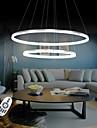 Modern Hängande lampor Glödande - LED, 110-120V 220-240V, Varmt vit Vit Dimbar med fjärrkontroll, LED-ljuskälla ingår