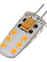 6W G4 Becuri LED Bi-pin T 12 led-uri SMD 2835 Alb Cald Alb Rece 200-300lm 2700-6500K AC 12V