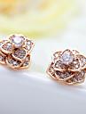 Pentru femei Cercei Stud Bijuterii Design Unic La modă Euramerican costum de bijuterii Zirconiu Aliaj Bijuterii Bijuterii Pentru Nuntă Zi