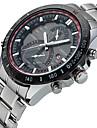 CURREN Bărbați Ceas de Mână / Ceas Sport Calendar / Creative / Cool Oțel inoxidabil Bandă Lux / Casual / Elegant Argint
