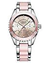 Pentru femei Quartz Ceas de Mână / Ceas Brățară Chineză Rezistent la Apă / Creative Oțel inoxidabil Bandă Charm / Lux / Casual / Elegant