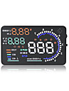 A8 5.5inch obd ii mașină hud head up display auto fereastră reflector ecran proiector viteză oboseală avertisment rpm mph consum de