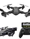 RC Drone VISUO XS809W RTF 4 Canaux 6 Axes 2.4G Avec Camera HD 0.3MP 480P Quadri rotor RC Retour Automatique / Mode Sans Tete / Vol