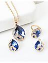 Pentru femei Set bijuterii - Picătură Stil Atârnat Include Negru / Rosu / Albastru Pentru Nuntă / Petrecere / Ocazie specială / Aniversare / Zi de Naștere