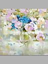 Peint a la main A fleurs/Botanique Format Horizontal,Artistique Un Panneau Toile Peinture a l\'huile Hang-peint For Decoration d\'interieur