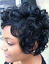 Peruki bez czepka z naturalnych włosów Włosy naturalne Curly / Klasyczny Tkany maszynowo Peruka Codzienny
