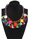 Pentru femei Coliere Choker Coliere cu Pandativ Coliere Geometric Shape Materiale Mixte Aliaj Metalic Floral Bohemia Stil Confecționat