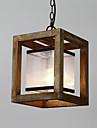 Retro Hängande lampor Fluorescerande - Ministil, 110-120V 220-240V Glödlampa inte inkluderad