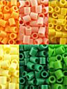 aproximativ 500pcs / sac de 5 mm margele margele de siguranțe HAMA DIY puzzle eva safty materiale pentru copii (asortate cu 6 culori, B17-B24)