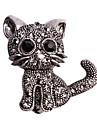 Pentru femei Broșe Design Animal Aliaj Animal Shape Pisica Bijuterii Pentru Nuntă Casual Serată Anul Nou