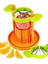 2 în 1 tăietor de mere corer tăietor de fructe portocale sliceră citrice separator legume tăiere set