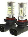 SENCART 2pcs 9005 / D14S / C Bilar Glödlampor 36W SMD 3030 1500-1800lm LED Glödlampor Dimljus
