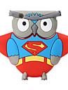 Nouveau cartoon owl usb2.0 128gb flash drive u memory memory