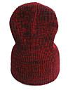 Damă Solid Iarnă Pălărie Floppy Albastru piscină Trifoi Gri Roșu Vin