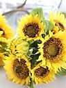 Kunstbloemen 1 Tak Europese Stijl Zonnebloemen Bloemen voor op tafel