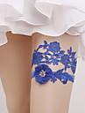 Elastický Návleky na nohy / Party / Svatba Svatební ošacení S Květiny Podvazky