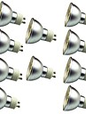 10pcs 3W 280lm LED-spotlights 30 LED-pärlor SMD 5050 Dekorativ Varmvit Kallvit 12V