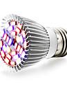 1 buc 6W 800 lm E27 Cultivarea becurilor 28 led-uri SMD 5730 Alb Cald UV (Fosforescentă) Albastru Roșu AC 85-265V