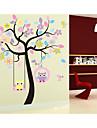 Animale Floral/Botanic Romantic Perete Postituri Autocolante perete plane Autocolante de Perete Decorative Material Pagina de decorarede