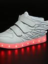 Fete Adidași Confortabili Noutăți Pantofi Usori Microfibră PU sintetică Toamnă Iarnă Casual Toc Plat Alb Negru Albastru Roz Negru/Verde