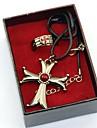 Mer accessoarer Inspirerad av Lönnmördare Altair Animé Cosplay-tillbehör Ringar Midje accessoar Dekorativa Halsband Brosch Zink Alloy