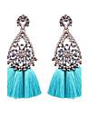 Pentru femei Cercei Picătură Bijuterii Floral Bumbac Aliaj Geometric Shape Bijuterii Pentru Nuntă Petrecere Alte Zilnic Casual Serată