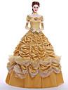Prințesă Queen Costume Cosplay Costume petrecere Mascaradă Cosplay de Film Rochie Mănuși Combinezon Perucă Crăciun Halloween Carnaval An