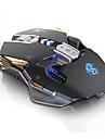 LITBest Baron السلكي USB البصرية لعب الفأر ضوء RGB 3200 dpi 4 مستويات DPI قابلة للتعديل 7 pcs مفاتيح 7 مفاتيح قابلة للبرمجة