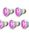 5pcs 4W 165-190 lm E14 GU10 E27 LED-växtlampa 10 lysdioder SMD 5730 Röd Blå AC 85-265V