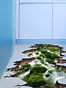 3D Stickers muraux Autocollants muraux 3D Autocollants muraux decoratifs, Plastique Decoration d\'interieur Calque Mural Sol