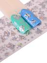 1 Autocollant d\'art de clou Paillettes Motif Accessoires Decoration artistique/Retro 3D Noel Nouvel an Produits DIY Maquillage cosmetique