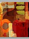 Pictat manual Abstract Artistic Un Panou Canava Hang-pictate pictură în ulei For Pagina de decorare