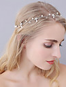 Imitation Pearl / Alloy Headbands / Head Chain with 1 Wedding / Special Occasion / Birthday Headpiece