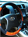 Steering Wheel Covers Leather 38cm Black / Beige / Gray For universal