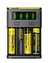 NEW-i4 Chargeur de batterie Lampes de poche Accessoires Portable Professionnel Haute qualite Plastique pour