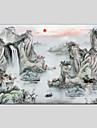 Hang-pictate pictură în ulei Pictat manual - Peisaj Clasic pânză