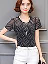 Pentru femei Bluză Geometric Poliester