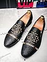 Bărbați Pantofi Piele Iarnă Toamnă Pantofi de scufundări Pantofi formale Confortabili Mocasini & Balerini Piatră Semiprețioasă Ținte Flori