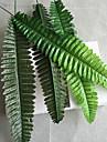 10 st 50 cm gren silkes konstgjorda blommor simulerade persiska gräs