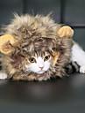 Crăciun Perucă Drăguț Lion Mane Halloween Blană Artificială Pentru Jucărie Pisică