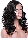 Remy-hår Spetsfront Peruk Brasilianskt hår Vågigt 130% 150% 180% Densitet Med Babyhår limfria Afro-amerikansk peruk Korta Lång Mellanlängd