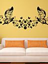 Cuvinte & Citate Modă Forme Perete Postituri Autocolante perete plane Autocolante de Perete Decorative Material Pagina de decorare de