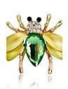 Pentru femei Broșe Diamant sintetic Multi-moduri Wear DIY Ștras Aliaj Animal Shape Bijuterii Pentru Petrecere Scenă