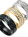 Bărbați Band Ring - Modă Auriu / Negru / Argintiu Inel Pentru Zilnic