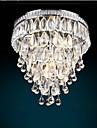 4-Light Montaj Flush Lumini Ambientale - Cristal, Stil Minimalist, Bec Inclus, 110-120V / 220-240V, Alb Cald / Alb Rece, Bec Inclus / 5-10㎡
