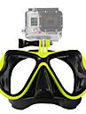 Simglasögon Snorkelmask Anti-dimma Specialdesignade Bärbar Enkelt Justerbar Multi-funktionell Simmning Dykning QQT